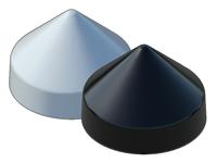Round Cone Piling Caps